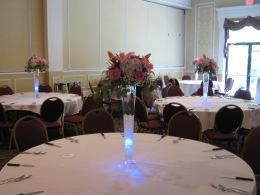 Samuel's Grande Manor Wedding Reception Flowers Williamsville NY