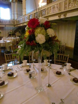 Statler Wedding Reception Flowers Buffalo NY