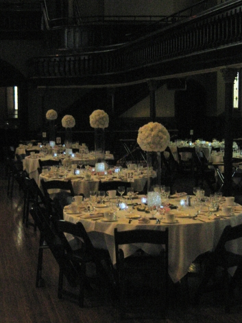 Asbury Hall Wedding Flowers Buffalo NY