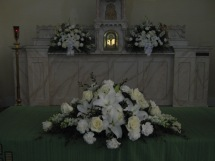 Wedding Flowers, Wedding Ceremony, Buffalo NY, Clarence NY, Wedding Ceremony Flowers