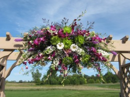 Akron NY, Wedding Flowers, Wedding Ceremony, Buffalo NY, Clarence NY, Wedding Ceremony Flowers