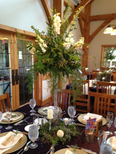 Flowers by Lipinoga Florist of Clarence NY for Wedding at Timberlodge in Akron NY (18)