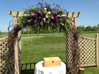 Flowers by Lipinoga Florist of Clarence NY for Wedding at Timberlodge in Akron NY (19)