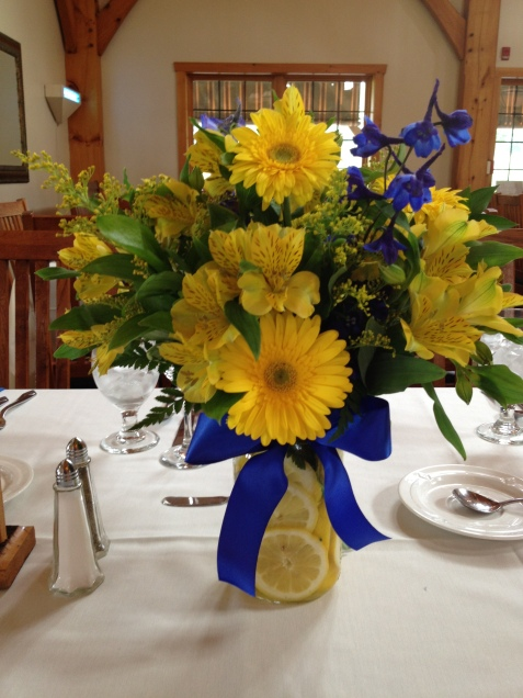 Flowers by Lipinoga Florist of Clarence NY for Wedding at Timberlodge in Akron NY (2)