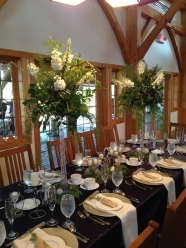 Flowers by Lipinoga Florist of Clarence NY for Wedding at Timberlodge in Akron NY (22)