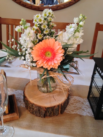 Flowers by Lipinoga Florist of Clarence NY for Wedding at Timberlodge in Akron NY (33)