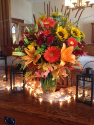 Flowers by Lipinoga Florist of Clarence NY for Wedding at Timberlodge in Akron NY (36)