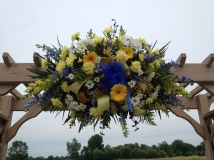 Flowers by Lipinoga Florist of Clarence NY for Wedding at Timberlodge in Akron NY (4)