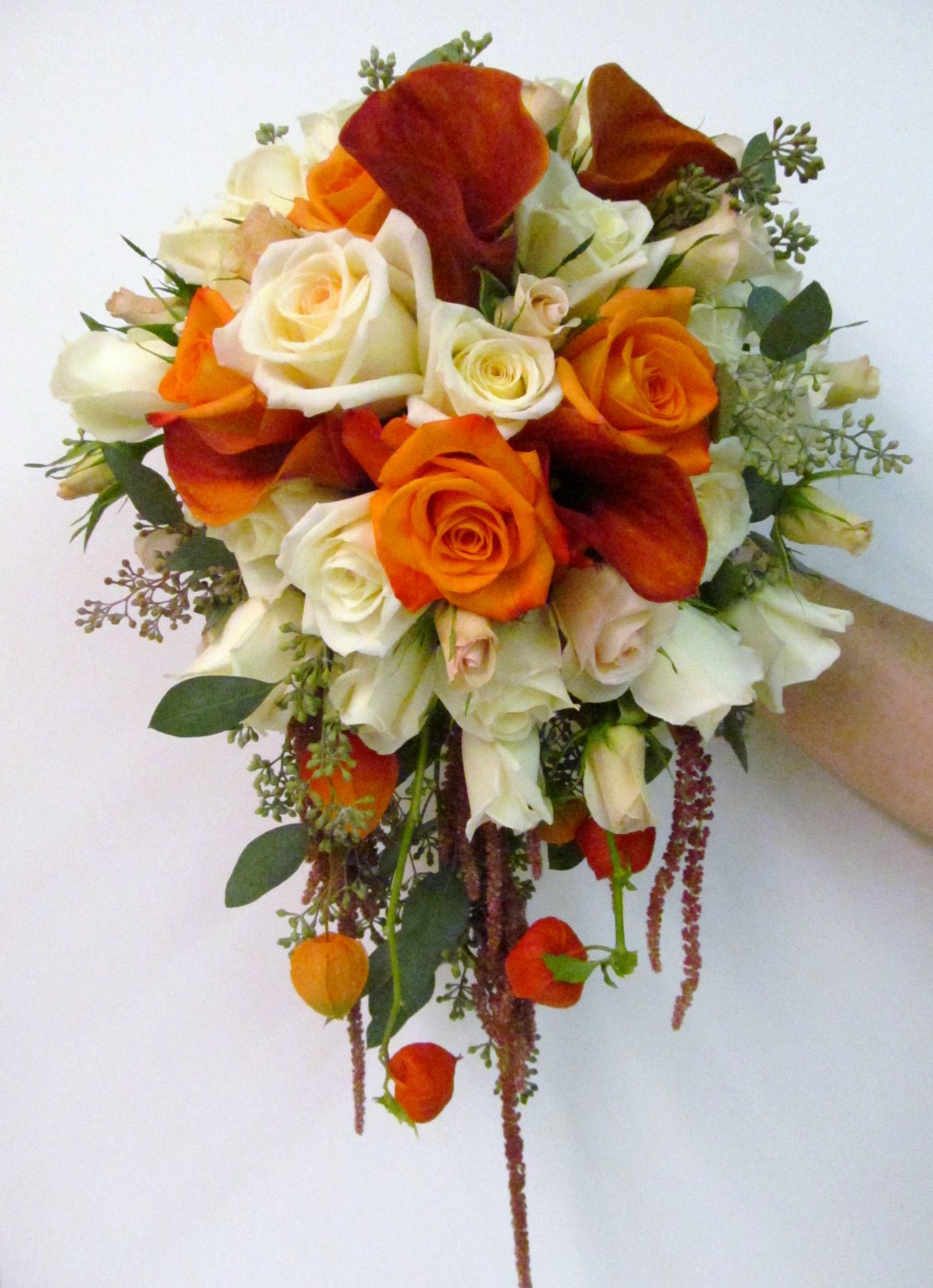 Becker farms gasport ny buffalo wedding event flowers by lipinoga florist - Flowers good luck bridal bouquet ...