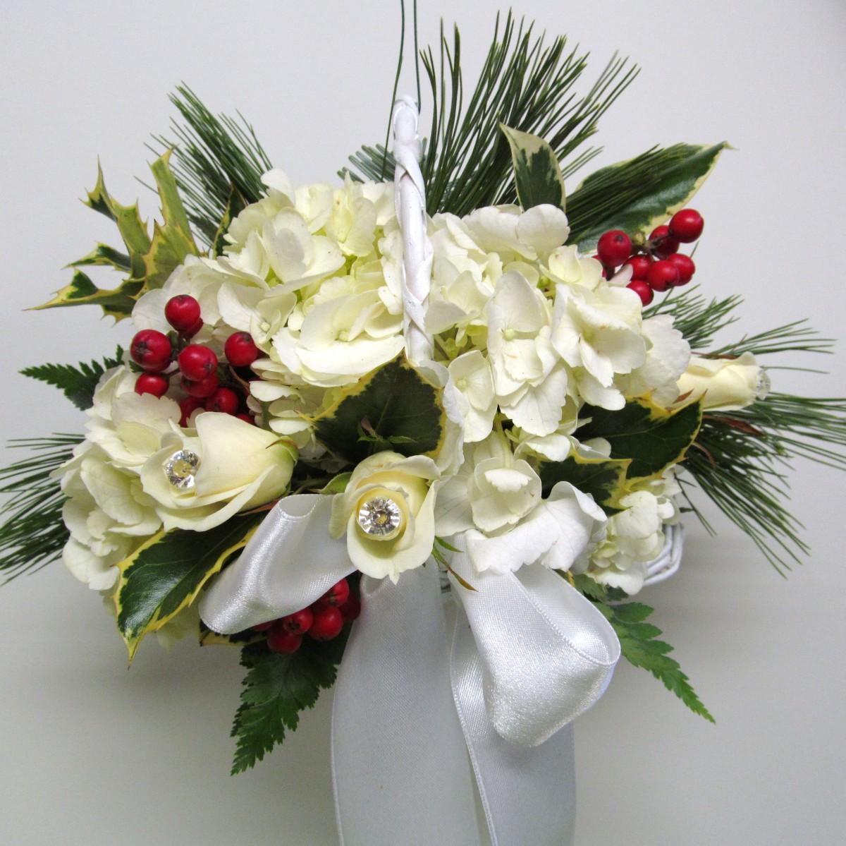 Flower Girl Buffalo Wedding Event Flowers By Lipinoga Florist
