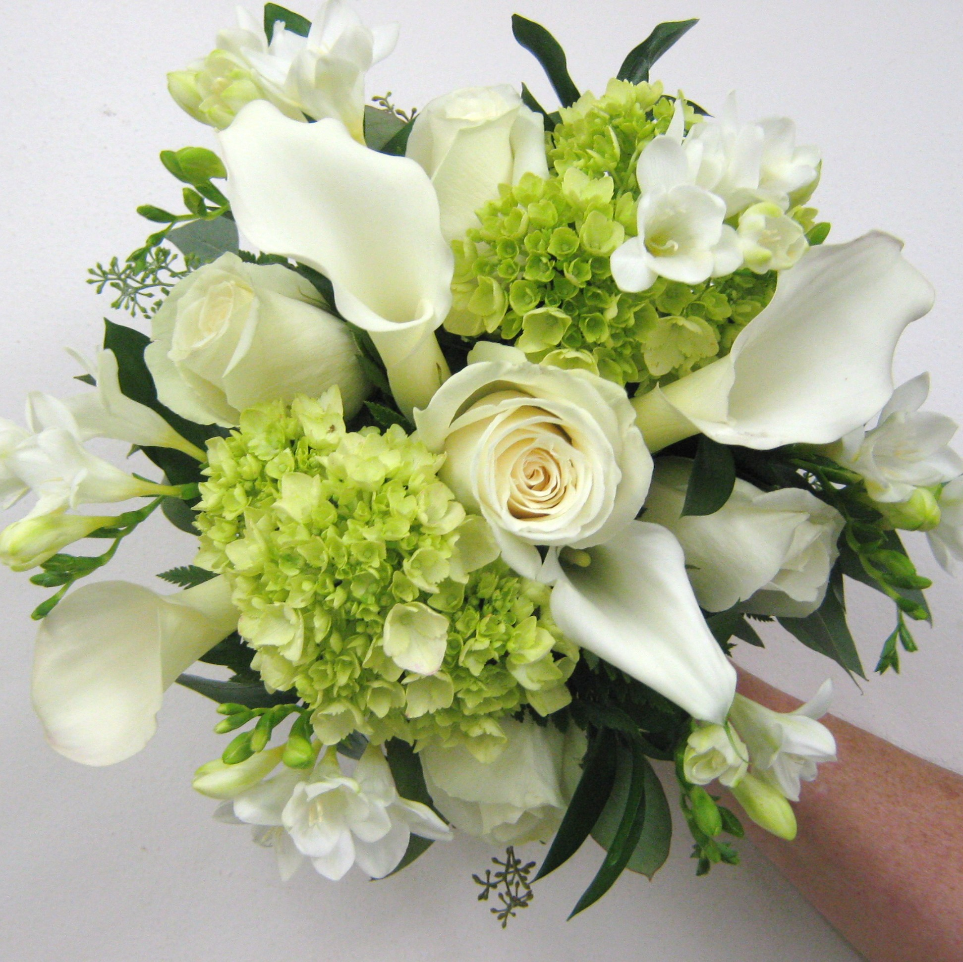 Freesia Bouquet Buffalo Wedding Event Flowers By Lipinoga Florist