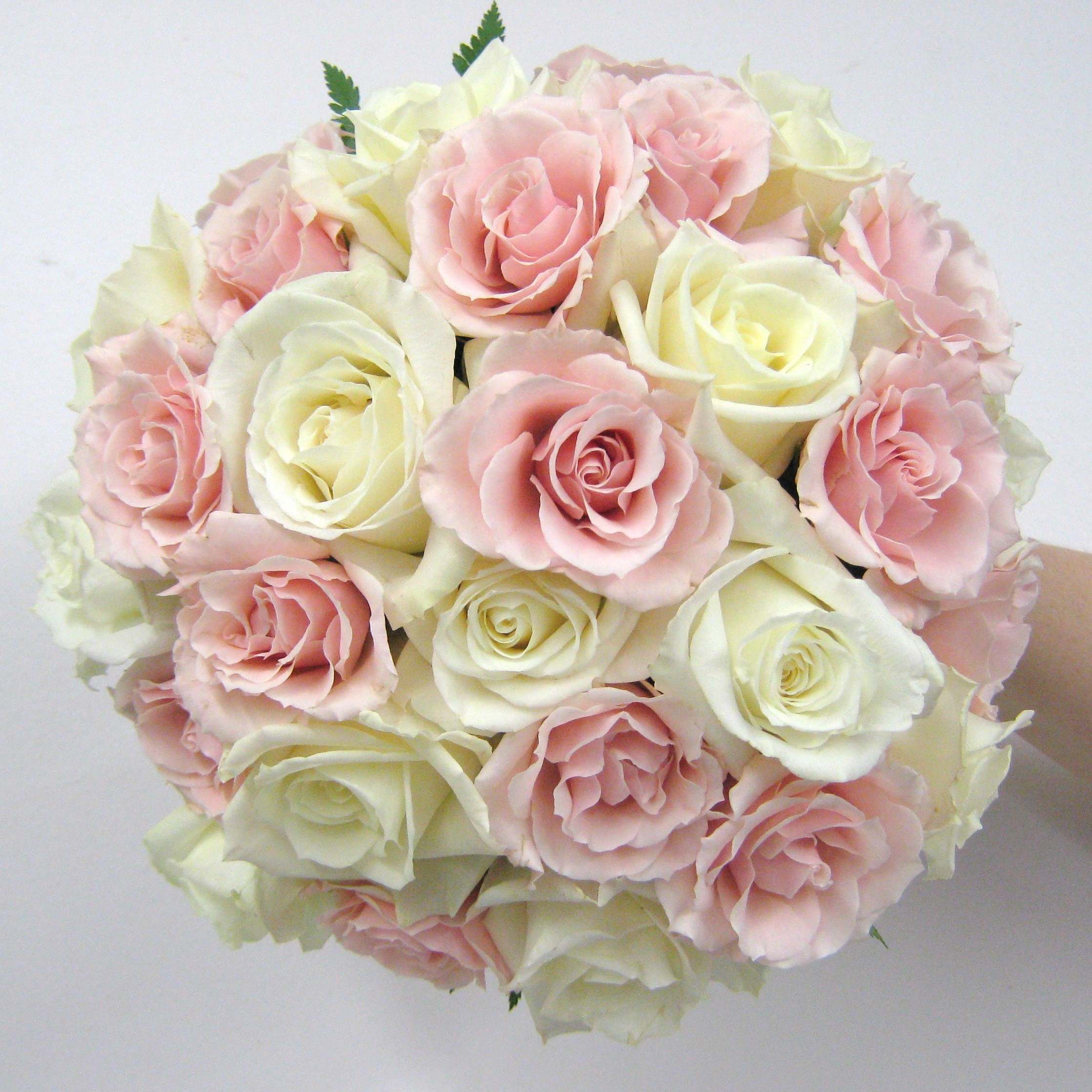 White Rose Bridal Bouquet | Buffalo Wedding & Event Flowers by ...