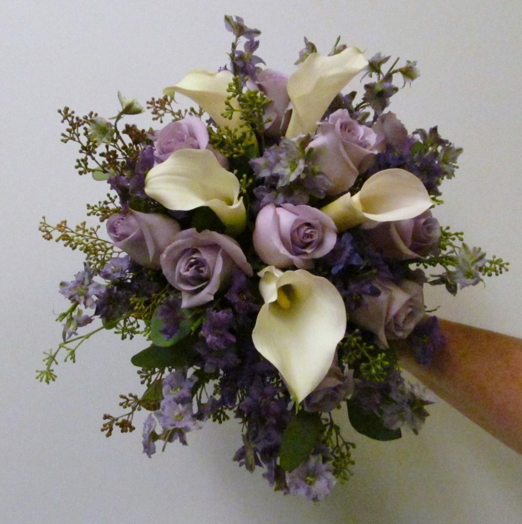 Lavender buffalo wedding event flowers by lipinoga florist