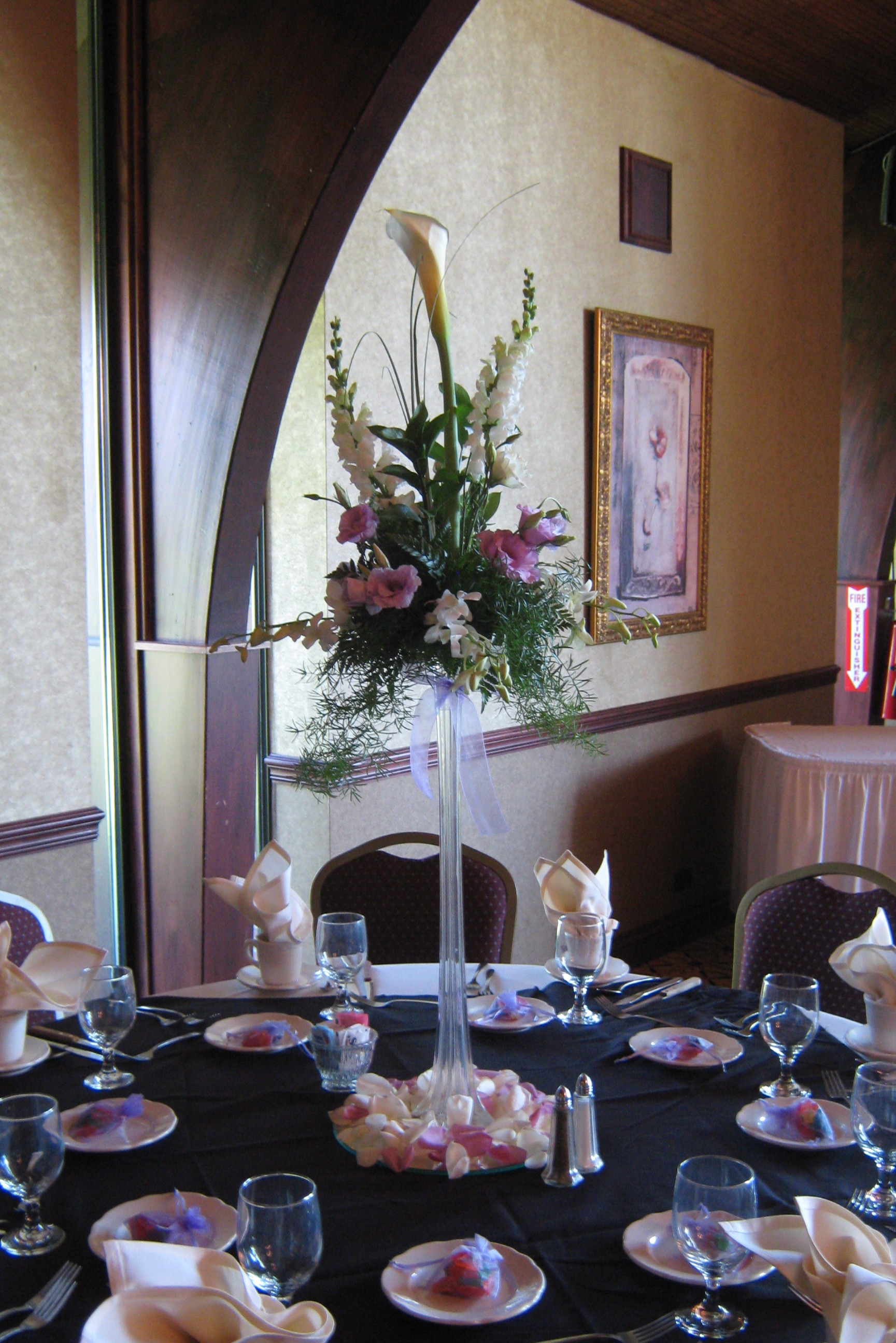 tall centerpieces wedding buffalo ny buffalo wedding