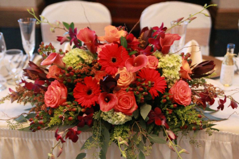 Ny wedding flowers buffalo event by