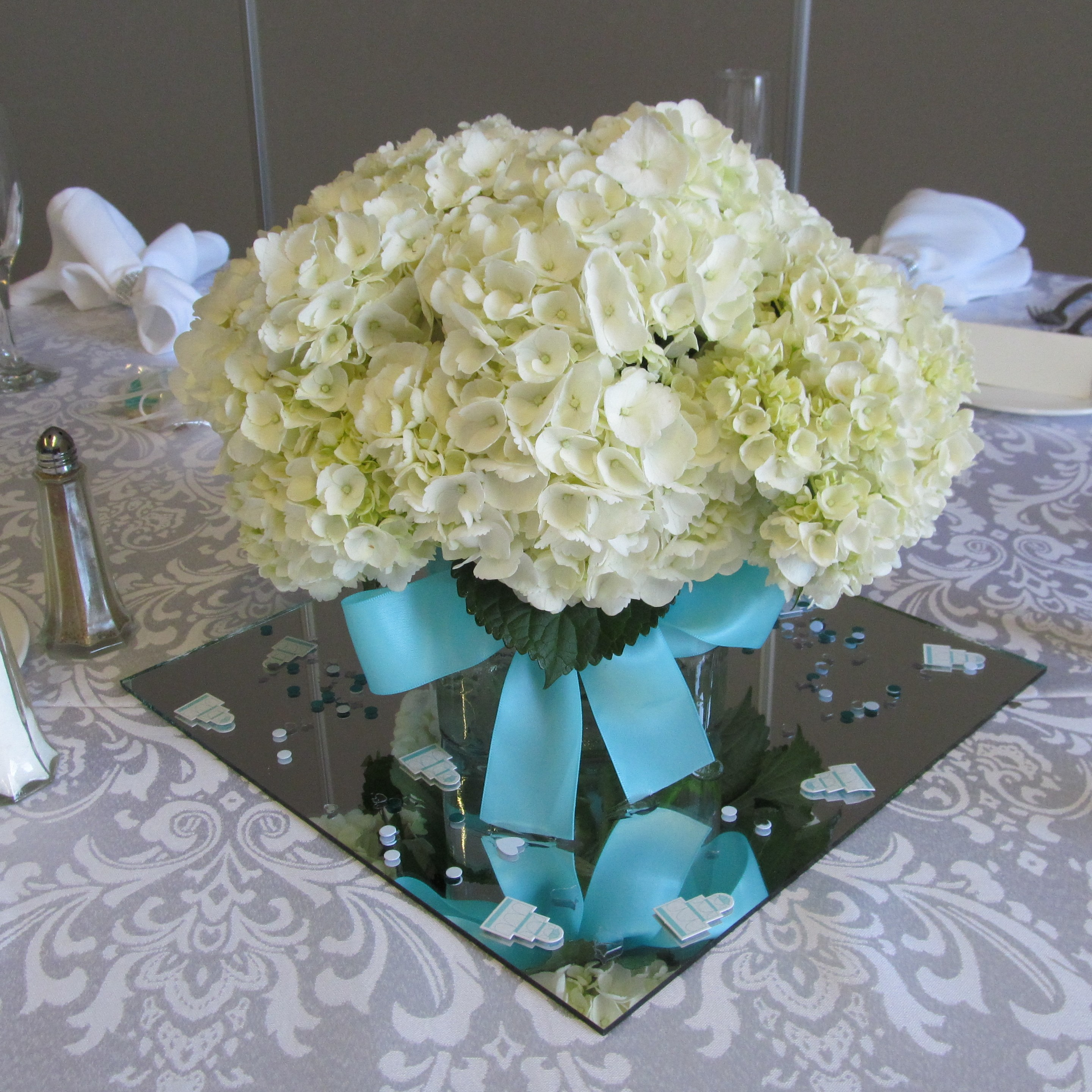 Tiffany blue buffalo wedding event flowers by lipinoga