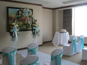 Embassy Suites Buffalo, NY Wedding Flowers