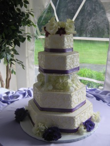 Avanti Mansion Wedding Cake Flowers