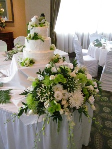 Westwood Country Club Wedding Reception Flowers Amherst NY