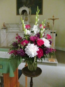 St. Mary's Swormville NY Wedding Flowers