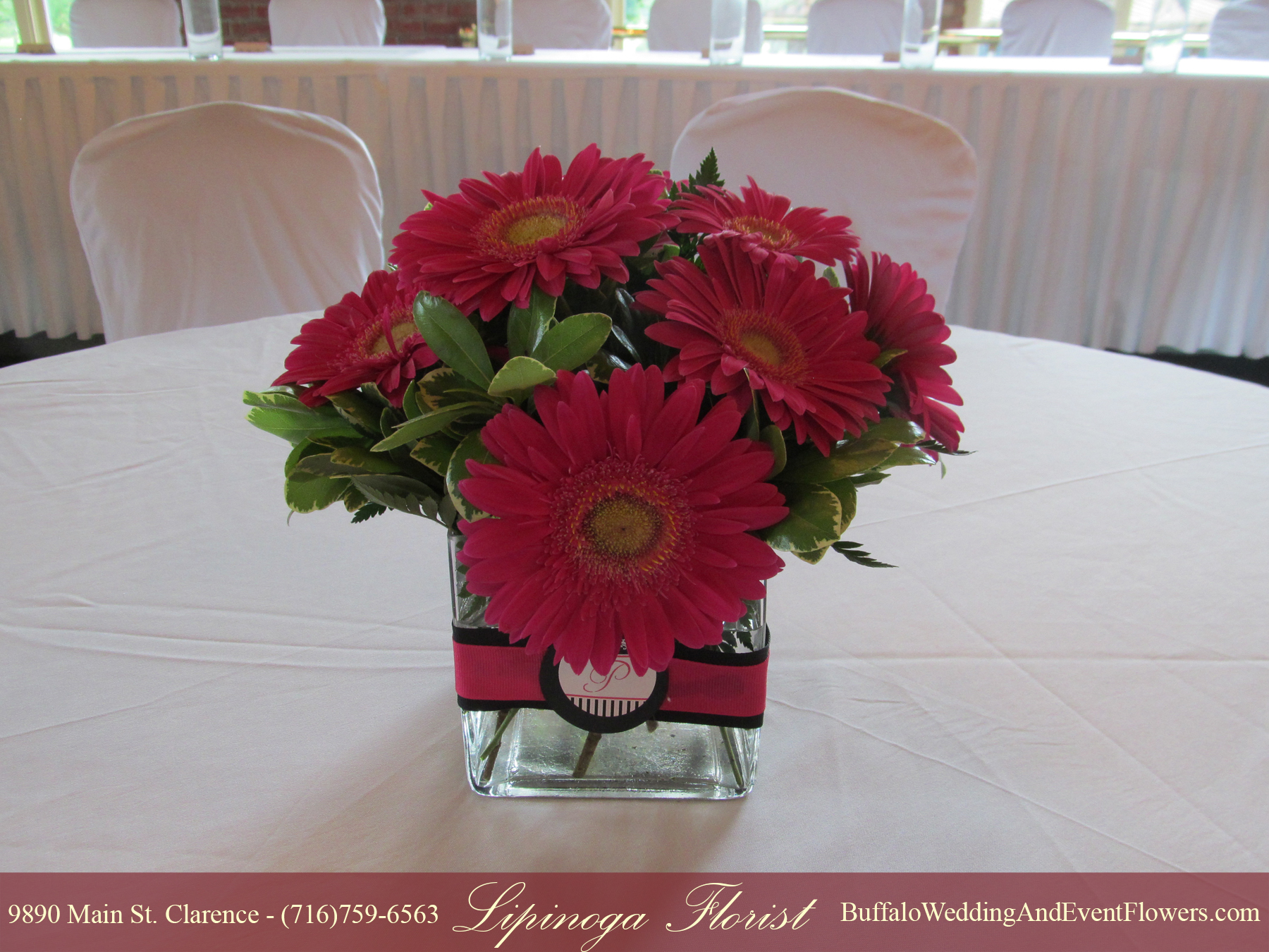 Hot Pink Wedding Flowers Buffalo Wedding Event Flowers By