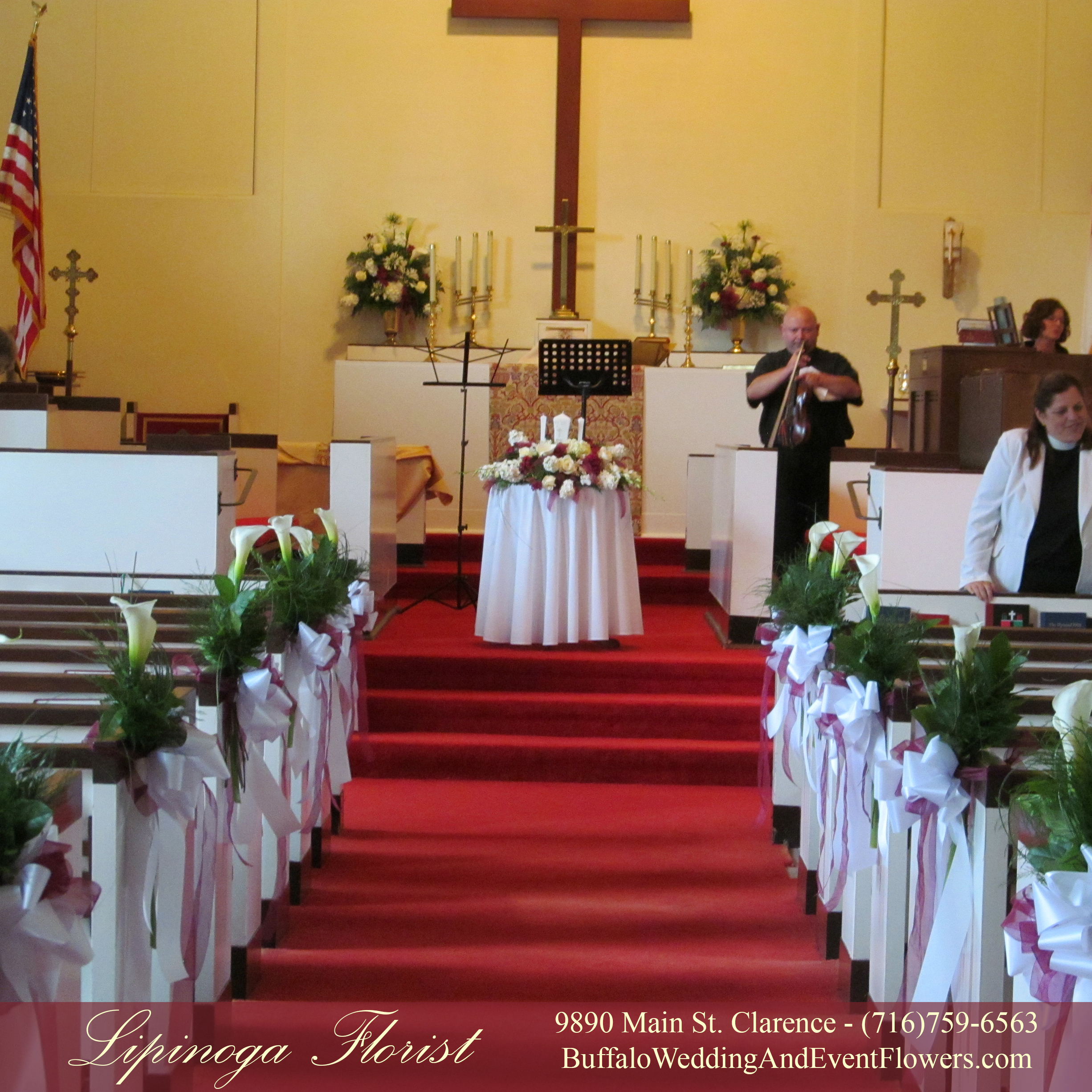 Wedding Flower Arrangements For Church: Buffalo Wedding & Event Flowers