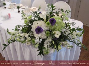 Milo's Williamsville NY Bridal Shower Flowers