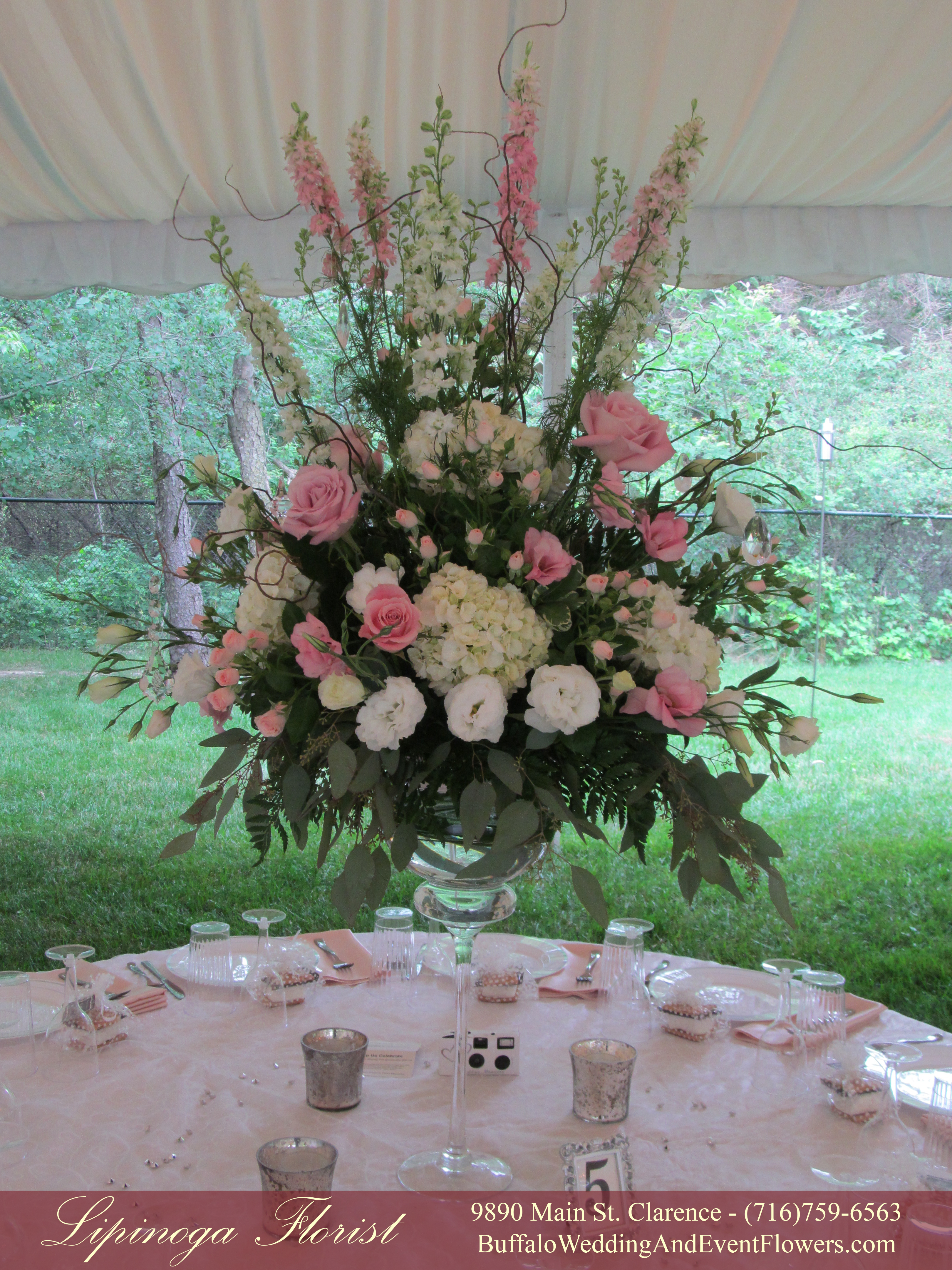Crystals buffalo wedding event flowers by lipinoga florist wedding flowers buffalo ny 4 izmirmasajfo