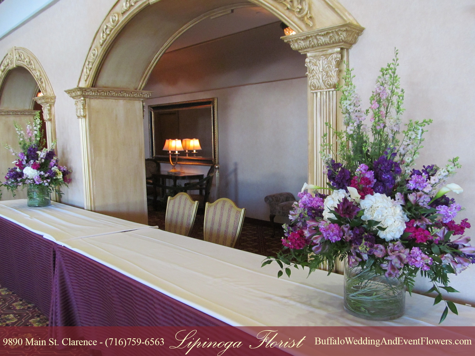 wedding flowers buffalo ny lavender buffalo wedding amp event flowers by lipinoga florist 9549