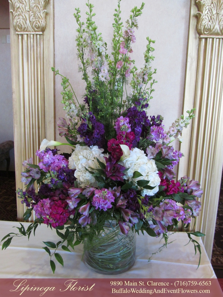 Tall Rental Vases Buffalo NY