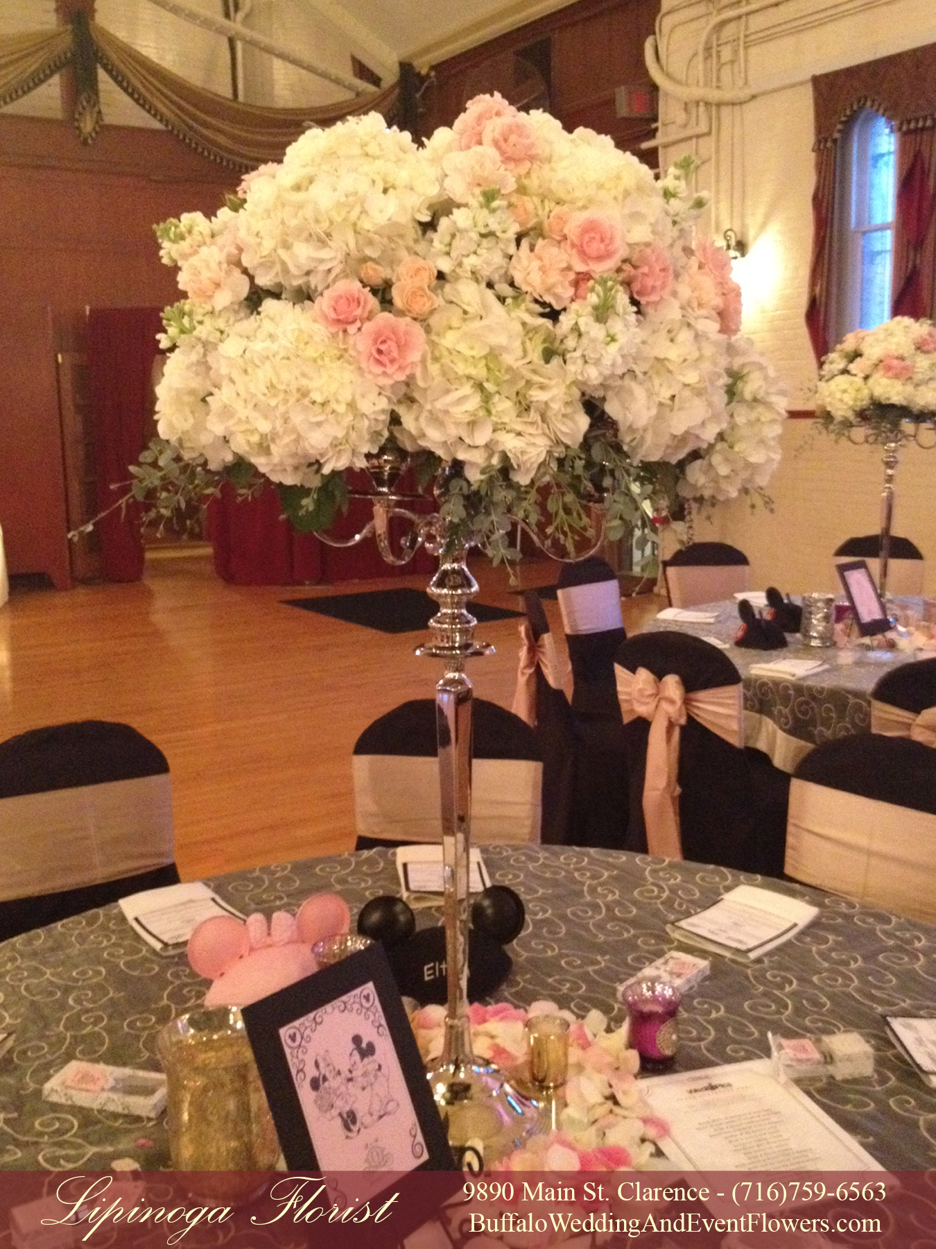 Tall Wedding Centerpieces Buffalo NY Buffalo Wedding Event Flowers