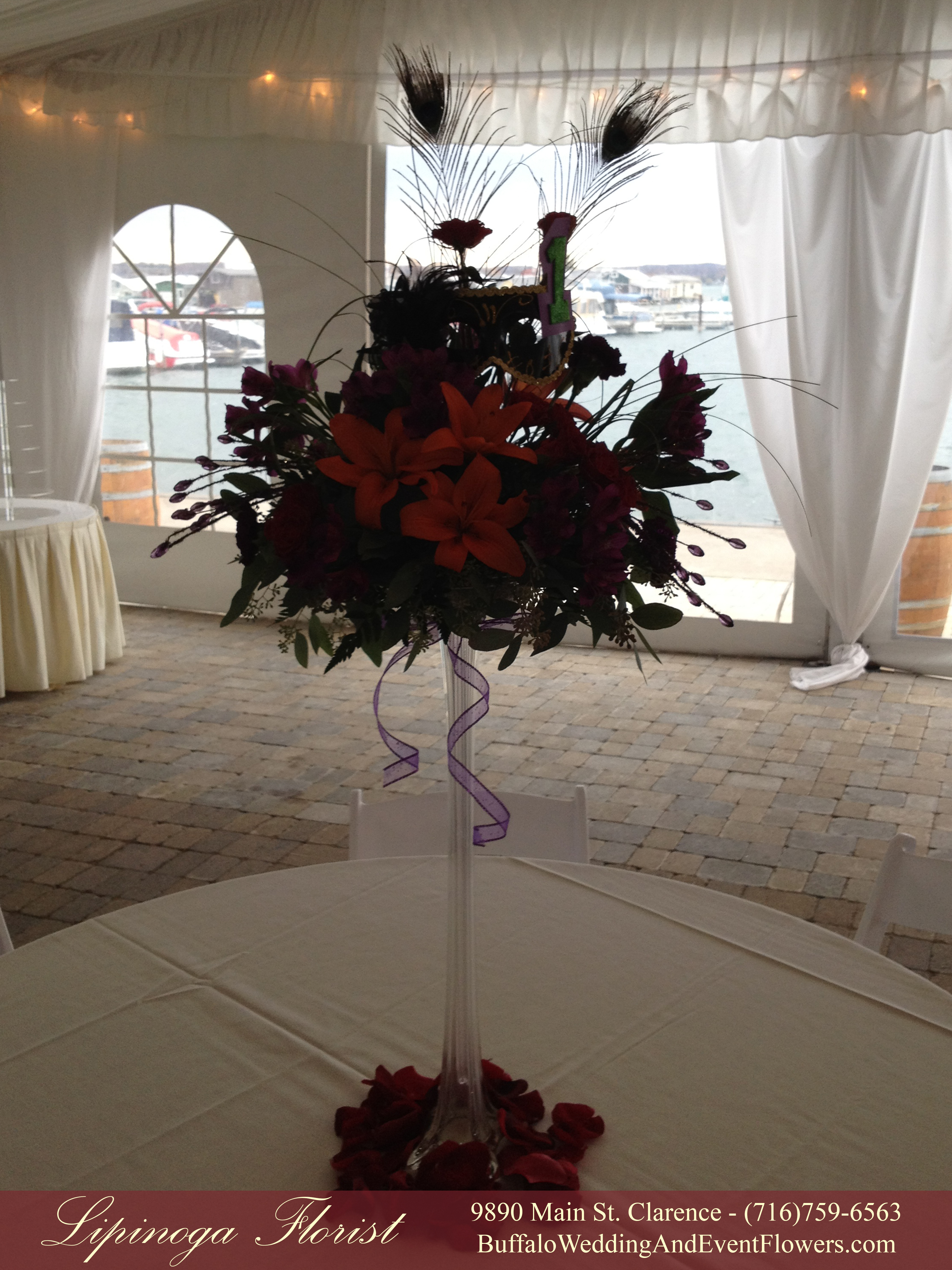 Masquerade Wedding Flowers Buffalo Wedding Amp Event