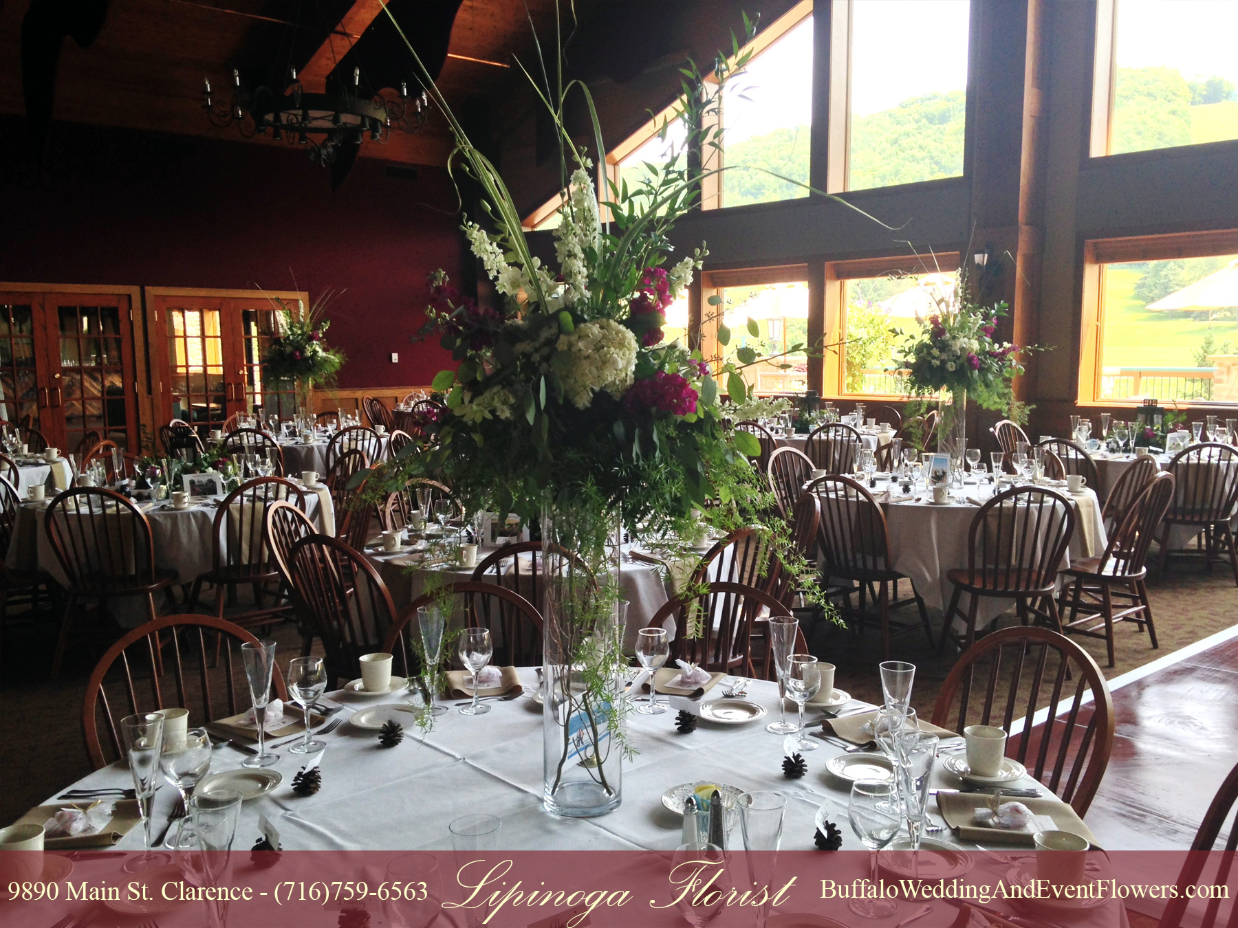 Ellicottville Ny Wedding Buffalo Wedding Amp Event Flowers By Lipinoga Florist