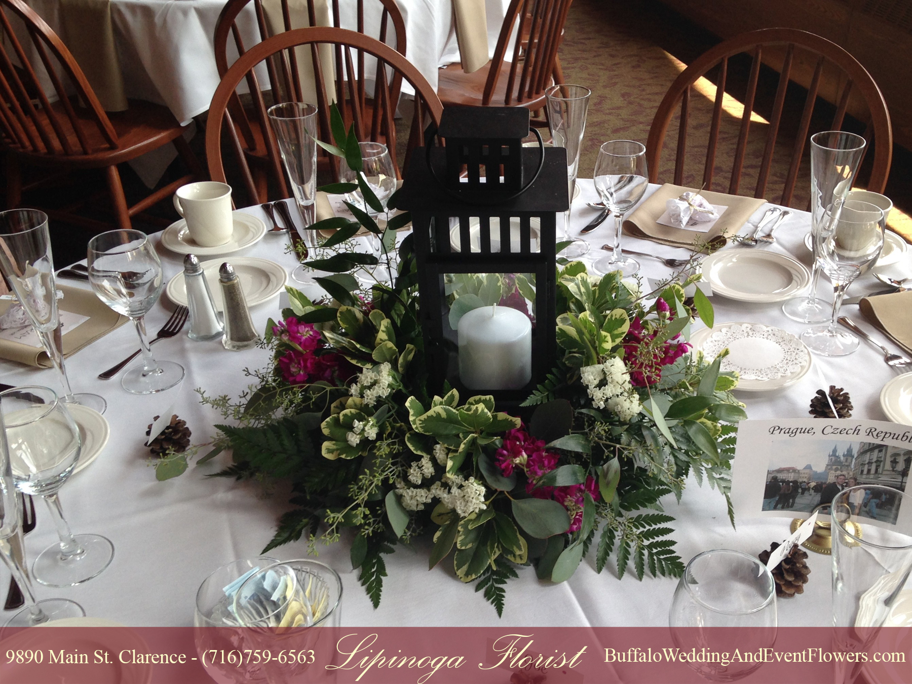 Lantern Wedding Centerpiece Buffalo amp Event