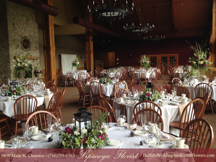 Ellicottville, NY Wedding Flowers Holiday Valley