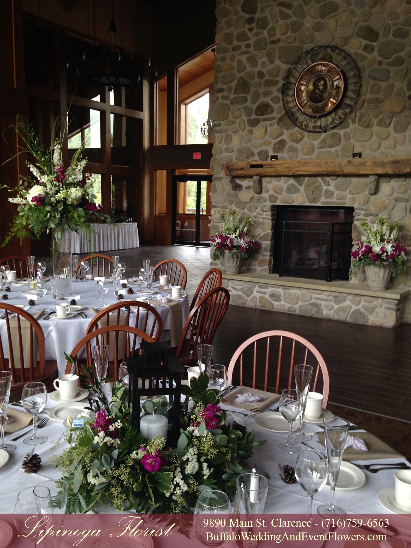 Rustic Ceremony Arch Buffalo Wedding Amp Event Flowers By Lipinoga Florist