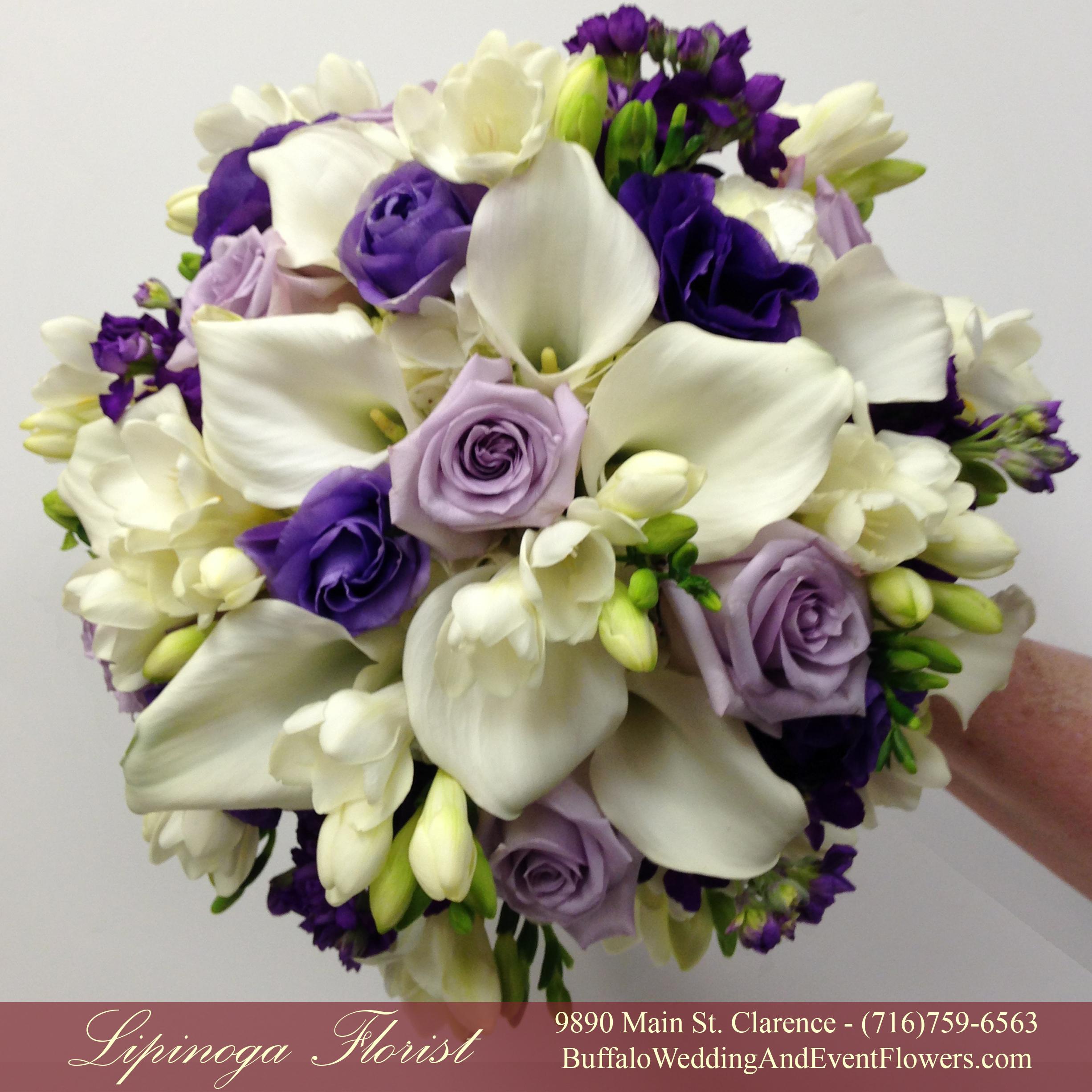 Tall Centerpieces Buffalo Wedding Event Flowers By Lipinoga Florist