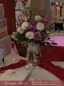 Vintage Lavender Wedding at Tonawanda Castle