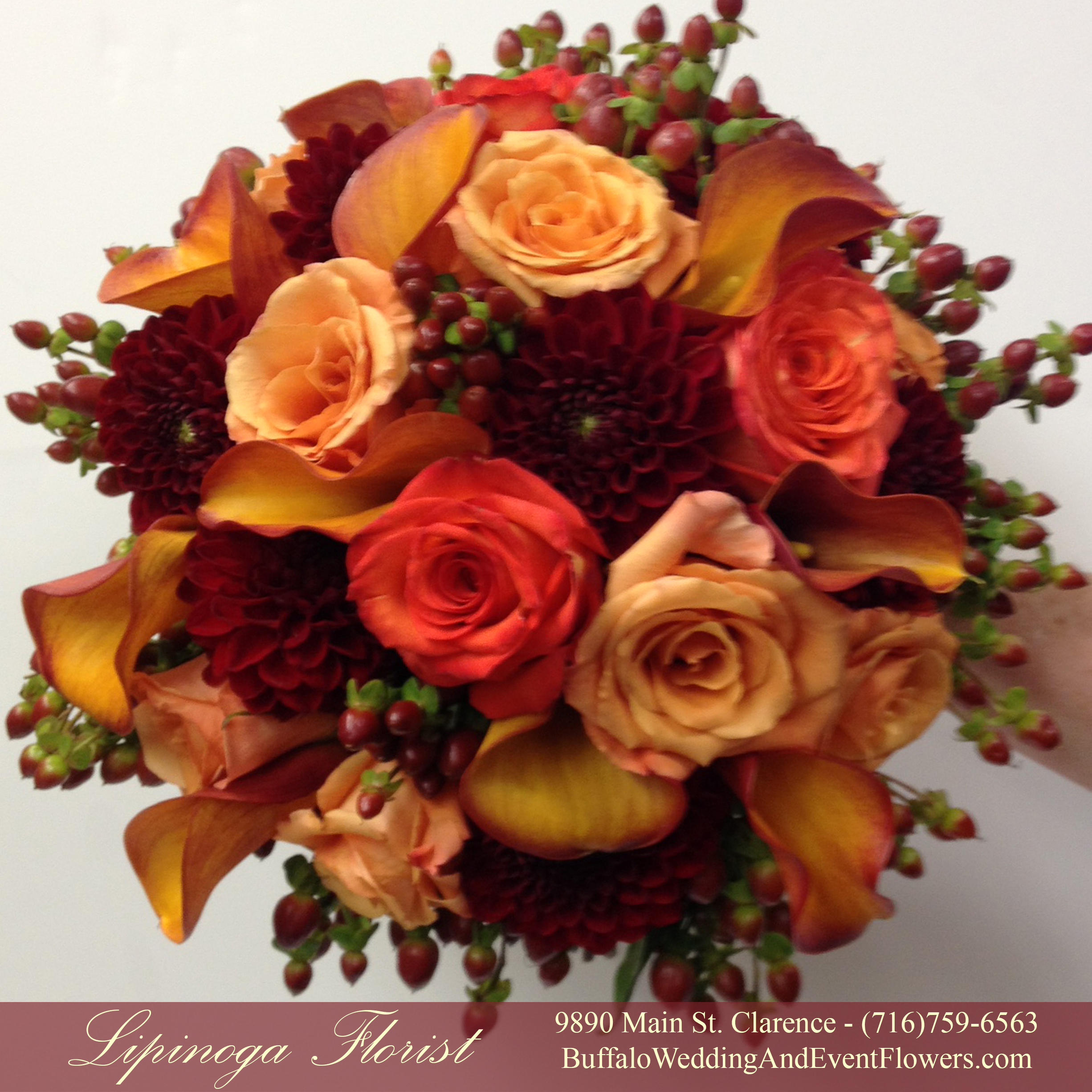 Fall Bridal Bouquets Buffalo Wedding Event Flowers By Lipinoga