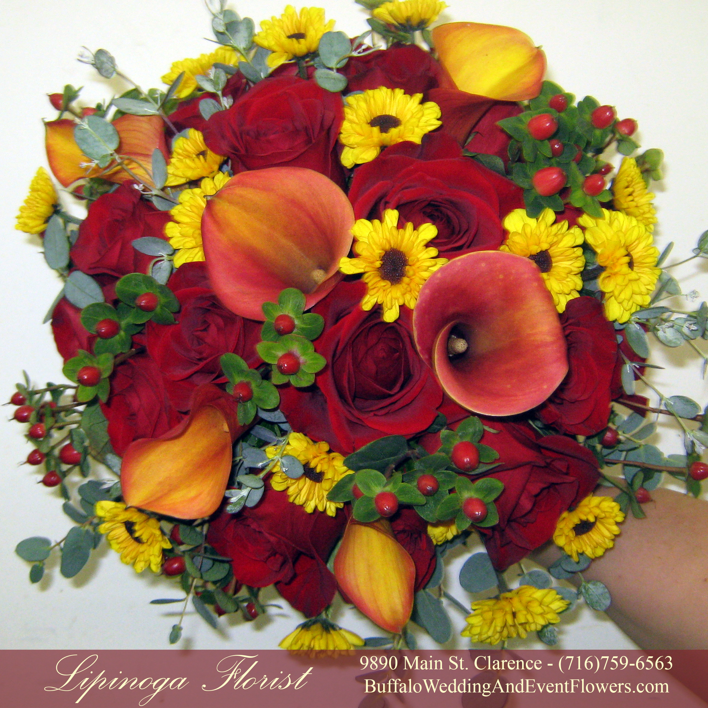 Fall wedding flowers buffalo wedding event flowers by lipinoga wedding florist buffalo fall izmirmasajfo