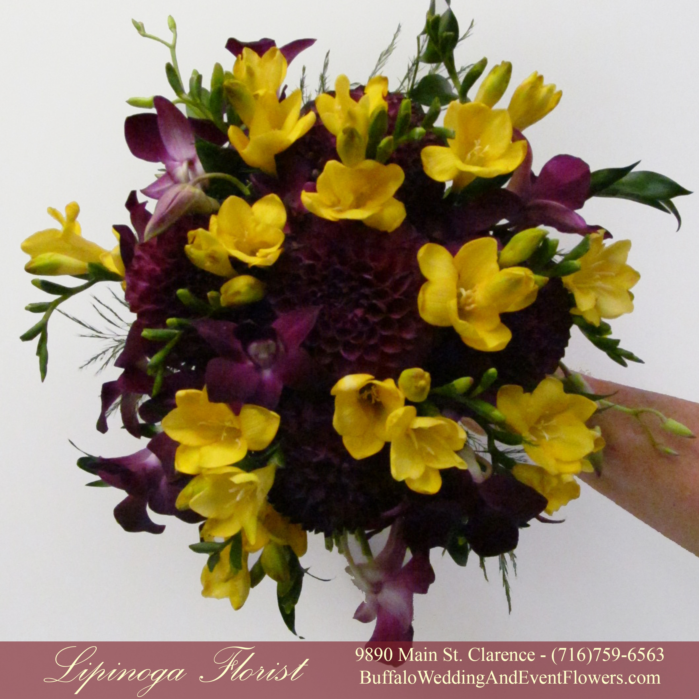 Bridal Bouquet Buffalo Wedding Event Flowers By Lipinoga Florist