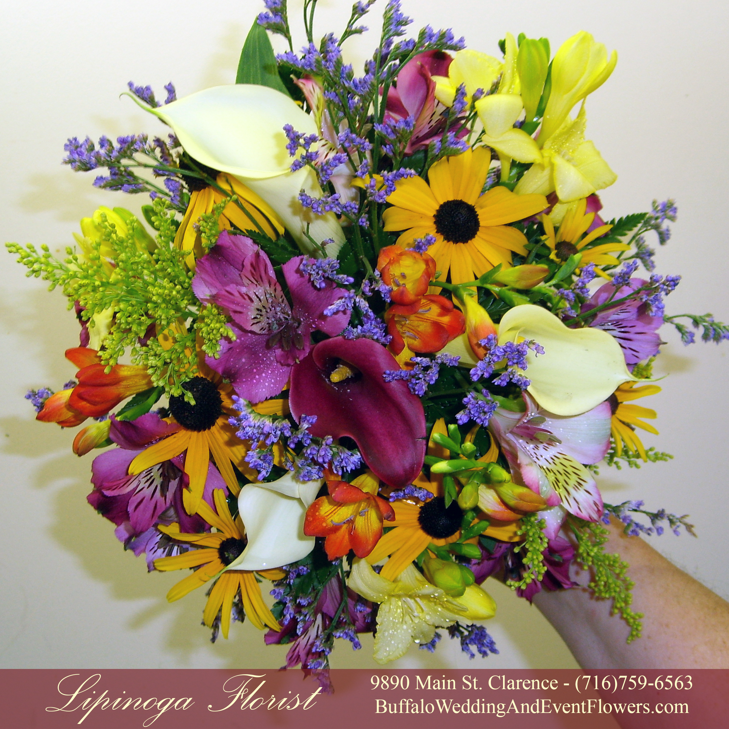 Wild Flower Wedding Bouquet: Buffalo Wedding & Event Flowers By