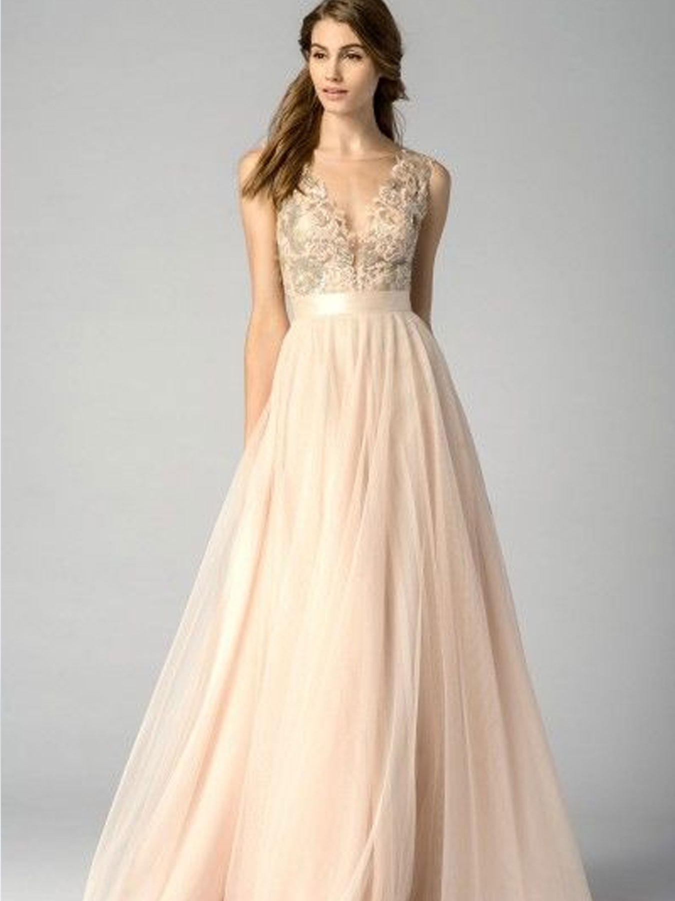 Top 20 bridesmaid bouquet dress color combinations of 2015 blush and lilac bridemaids bouquets buffalo ny lipinoga florist 2 ombrellifo Image collections