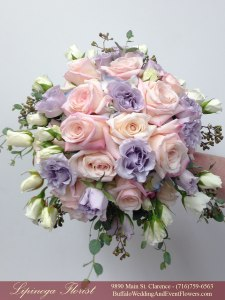 blush and lilac bridemaids bouquets buffalo ny lipinoga florist