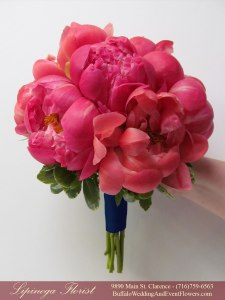 coral and navy wedding flowers buffalo ny lipinoga florist