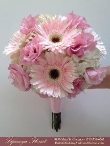 lipinoga florist black and pink wedding flowers
