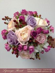 marsala and orchid wedding flowers buffalo ny lipinoga florist