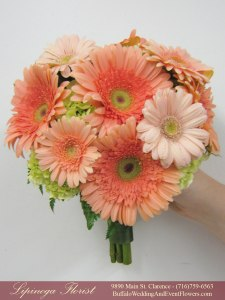 mint and peach wedding flowers buffalo ny lipinoga florist