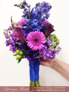 royal and purple wedding flowers buffalo ny lipinoga florist