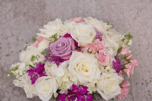 Buffalo Wedding Bridal Bouquet by Lipinoga Florist (10)
